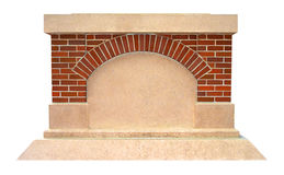 статуя продукта постамента строения здесь изолированная ваша Стоковая Фотография