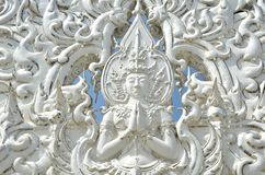 статуя раздумья ангела Стоковое Фото