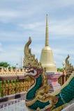 Статуя дракона в виске Стоковая Фотография