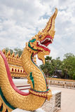статуя дракона тайская Стоковое Фото