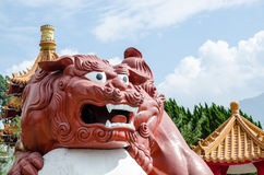 Статуя дракона Стоковые Изображения