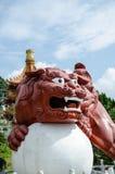 Статуя дракона Стоковые Фото