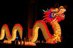 Статуя дракона Стоковое Изображение RF