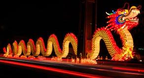 Статуя дракона Стоковая Фотография RF