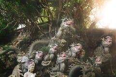 Статуя драконов Стоковое Фото