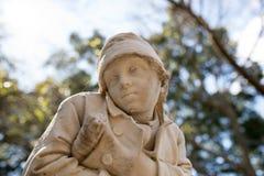 Статуя ребенка Стоковая Фотография RF