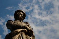 Статуя Рембрандт Стоковые Изображения