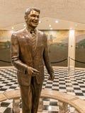 Статуя Рональда Рейгана, капитолий положения Калифорнии Стоковые Фотографии RF