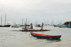 статуя рыболовов Стоковое Фото