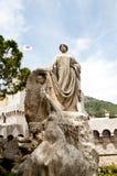 Статуя рыболова Grimaldi Стоковое Изображение