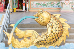 Статуя рыб Стоковые Изображения