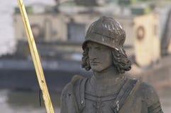 статуя рыцаря bruncvik Стоковые Изображения