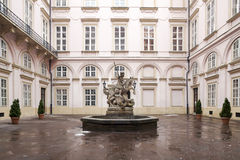 Статуя рыцаря St. George Стоковые Фотографии RF