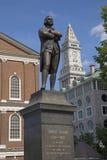 Статуя Самюэль Adams стоковые изображения rf
