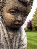 статуя сада flowerpot коровы смешная стоковые изображения
