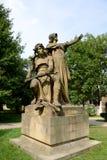 Статуя, сад Vysehrad, Прага Стоковые Изображения RF