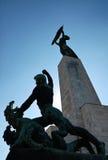 Статуя свободы, Будапешт Стоковое Изображение