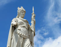 Статуя свободы в Сан-Марино малое microstate в Centra Стоковое фото RF