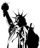 Статуя свободы, изображение вектора иллюстрация вектора