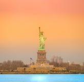 Статуя свободы. Нью-Йорк, США. Стоковое Изображение RF