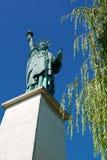 Статуя свободы, Париж, Франция. Стоковое Изображение RF