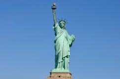 Статуя свободы, полное вид спереди Стоковое Изображение