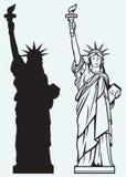 Статуя свободы иллюстрация штока