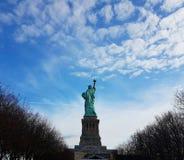 Статуя свободы NYC стоковая фотография rf
