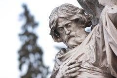 Статуя Святого Стоковое Изображение RF