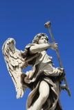 статуя святой замока angelo ангела Стоковое фото RF