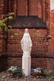 статуя святой mary Стоковые Изображения