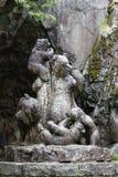 статуя семьи медведя Стоковое Изображение RF