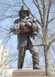 Статуя Сент-Луис дани пожарного Стоковые Изображения RF