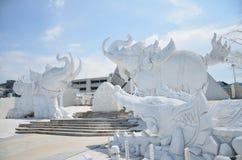 Статуя слона, которая символ Таиланда Стоковая Фотография RF
