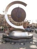 Статуя современного дизайна Стоковое Фото