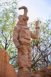 Статуя старого Китая стоковое фото