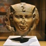 Статуя фараона головная стародедовского Египета стоковое фото rf