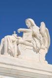 статуя суда высшая мы стоковое фото rf