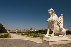 Статуя сфинкса Стоковые Фото
