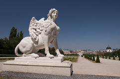 Статуя сфинкса Стоковые Фотографии RF