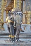 Статуя слона в wat samien висок nari в Бангкоке Таиланде Стоковые Изображения