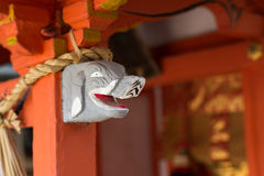 Статуя слона головная на stigmatic Стоковое Фото