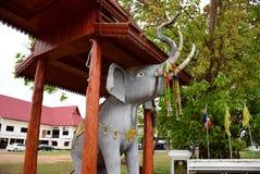 Статуя слона стоковая фотография