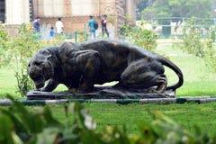 Статуя тигра Стоковое Изображение RF