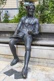 Статуя Томас Chatterton в Бристоле стоковое изображение rf