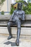 Статуя Томас Chatterton в Бристоле стоковые фотографии rf