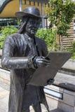 Статуя Уильям Пенн в Бристоле стоковые изображения rf
