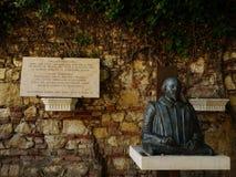 Статуя Уильям Шекспир Стоковые Изображения RF