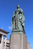Статуя ферзя Виктории, квадрат Виктории, Бирмингем Стоковые Изображения