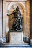 Статуя Филипп IV Felipe IV в соборе Santa Maria Maggiore в Риме, Италии стоковое фото rf